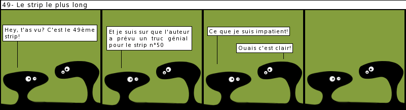 le strip le plus long